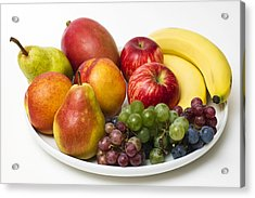Fruit Dish Acrylic Print by Donald  Erickson