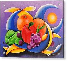 Fruit Acrylic Print by Oswaldo Cevallos