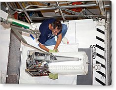 Fuel Cell From Space Shuttle Discovery Acrylic Print by Frankie Martin/nasa