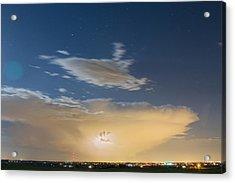 Full Moon Light Acrylic Print by James BO  Insogna