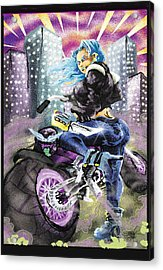 Full Throttle  Acrylic Print by Ronnell Williams