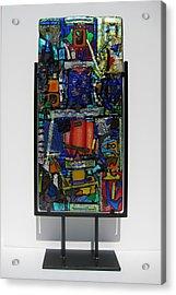 Funhouse Acrylic Print by Mark Lubich