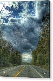Furnace Branch Road Acrylic Print by Toni Martsoukos