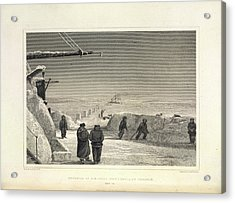 Fury And Hecla Acrylic Print by British Library