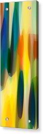 Fury Panoramic Vertical 1 Acrylic Print by Amy Vangsgard