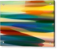 Fury Seascape 6 Acrylic Print by Amy Vangsgard