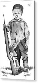 Future Trooper Acrylic Print by Ferrel Cordle