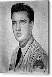 G I Elvis  Acrylic Print by Andrew Read