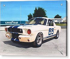 G T 350 Acrylic Print by Robert Hooper