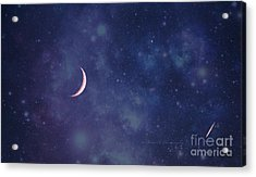 Galactic Show Acrylic Print by Rima Biswas