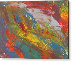 Galaxy Within Acrylic Print by Ronald Weatherford