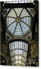 Gallery Glass Roof Of The City Hall Building Acrylic Print by Sami Sarkis