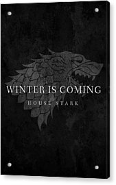 Game Of Thrones Acrylic Print by Mike Taylor