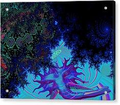 Ganesh Blessings Acrylic Print by Jason Saunders