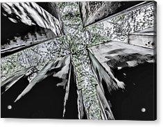 Garden Of Exile Acrylic Print by Peter Benkmann