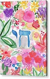 Garden Of Life Acrylic Print by Linda Woods
