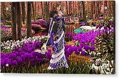 Garden Of Love Acrylic Print by Marvin Blaine