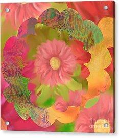 Garden Party Acrylic Print by Christine Fournier