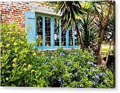 Garden Window Db Acrylic Print by Rich Franco