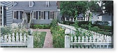 Gardens Williamsburg Va Acrylic Print by Panoramic Images