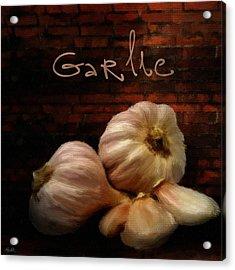 Garlic II Acrylic Print by Lourry Legarde