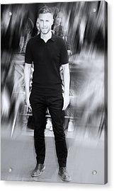 Gary Barlow 1 Acrylic Print by Jez C Self