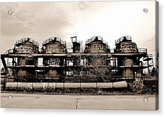 Gasworks Seattle Acrylic Print by Benjamin Yeager
