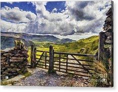 Gateway To Freedom Acrylic Print by Ian Mitchell