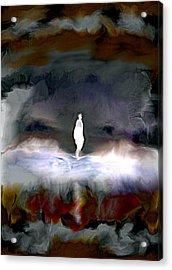 Gathering Storm Acrylic Print by Karunita Kapoor