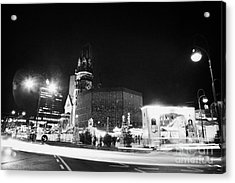 Gedachtniskirche Christmas Market On Kudamm Berlin Germany Acrylic Print by Joe Fox
