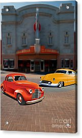 Gem Theater - Kansas City Missouri  Acrylic Print by Liane Wright