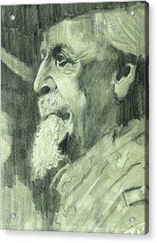 General Lee Acrylic Print by Luis  Navarro