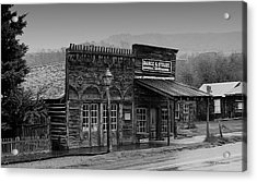 General Store Virginia City Montana Acrylic Print by Thomas Woolworth