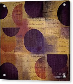 Geomix 01 - 122129082 Acrylic Print by Variance Collections