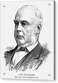 George Glyn (1824-1887) Acrylic Print by Granger