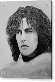George Harrison Acrylic Print by Patricia Brewer-Cummings