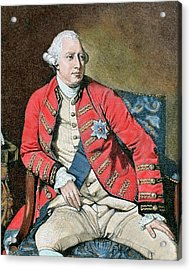 George IIi (london, 1738-windsor, 1820 Acrylic Print by Prisma Archivo