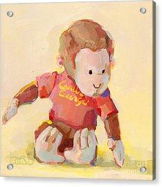 George Acrylic Print by Kimberly Santini