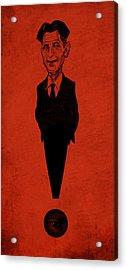 George Orwell Acrylic Print by Thomas Seltzer
