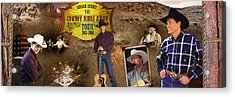 George Strait Cowboy Rides Away Acrylic Print by Retro Images