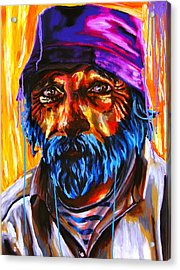 Georges King Star Acrylic Print by Bazevian