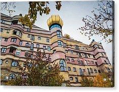 Germany, Hesse, Darmstadt, Waldspirale Acrylic Print by Walter Bibikow