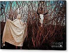 Ghost Attack Acrylic Print by Gregory Dyer