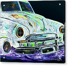 Ghost Car Acrylic Print by Eloise Schneider
