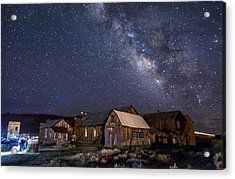Ghost Dog At Bodie Acrylic Print by Cat Connor
