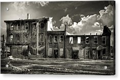 Ghost Of Our Town Acrylic Print by Jaki Miller