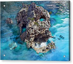 Ghost Rock Acrylic Print by Johnny Trippick