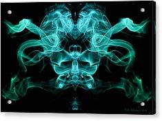 Ghostface Acrylic Print by WB Johnston