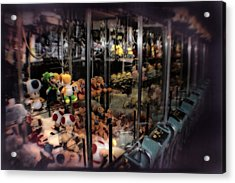 Ghosts Of The Arcades - The Toys Come Out At Night To Play Acrylic Print by Doc Braham