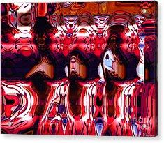 Giants-w-simplified Acrylic Print by David Winson